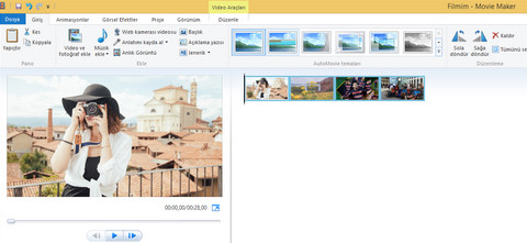 En İyi Film Yapma Programı Windows Movie Maker