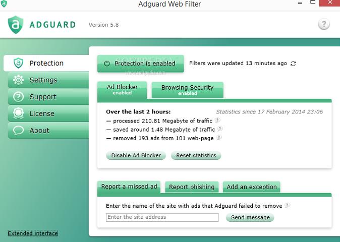 Adguard Web Filter Reklam Engelleme