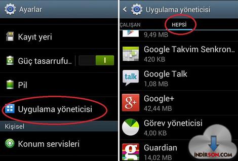 Android Mobil Uygulamaları Nasıl Kaldırılır