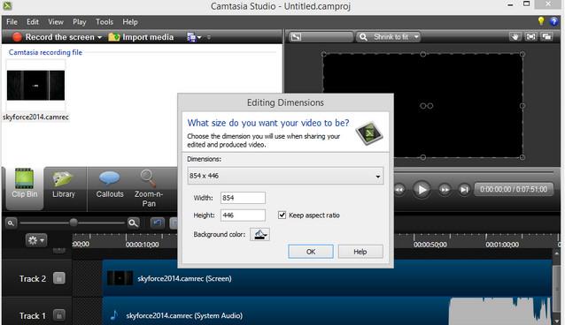 Camtasia Studio Ekran Kayıt Programı