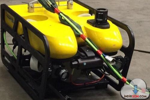 Yerli İnsansız Su Altı Aracı ROV