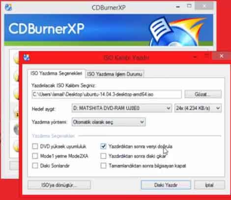 CDBurnerXP Ne İşe Yarar
