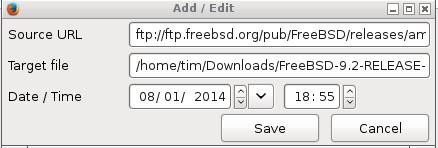 Firefox ile İndirme Planlama Ayarları