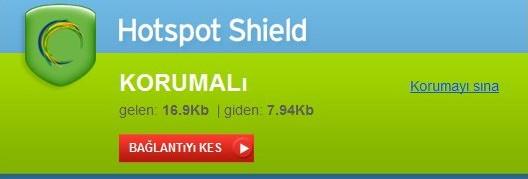 Hotspot Shield VPN Programı Ücretsiz