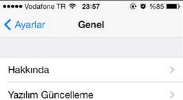 iPhone (iOS) Telefon Güncellemesi Nasıl Yapılır?