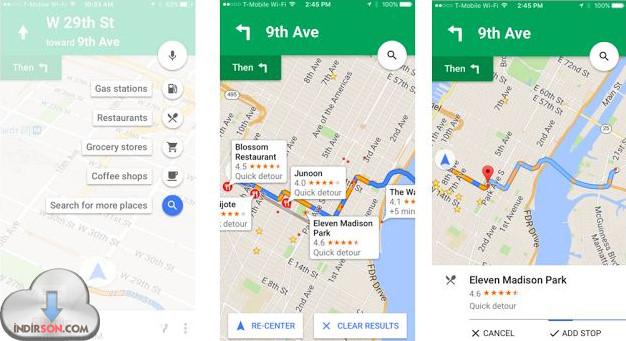 Apple Google iOS İşletim Sistemi Haritası
