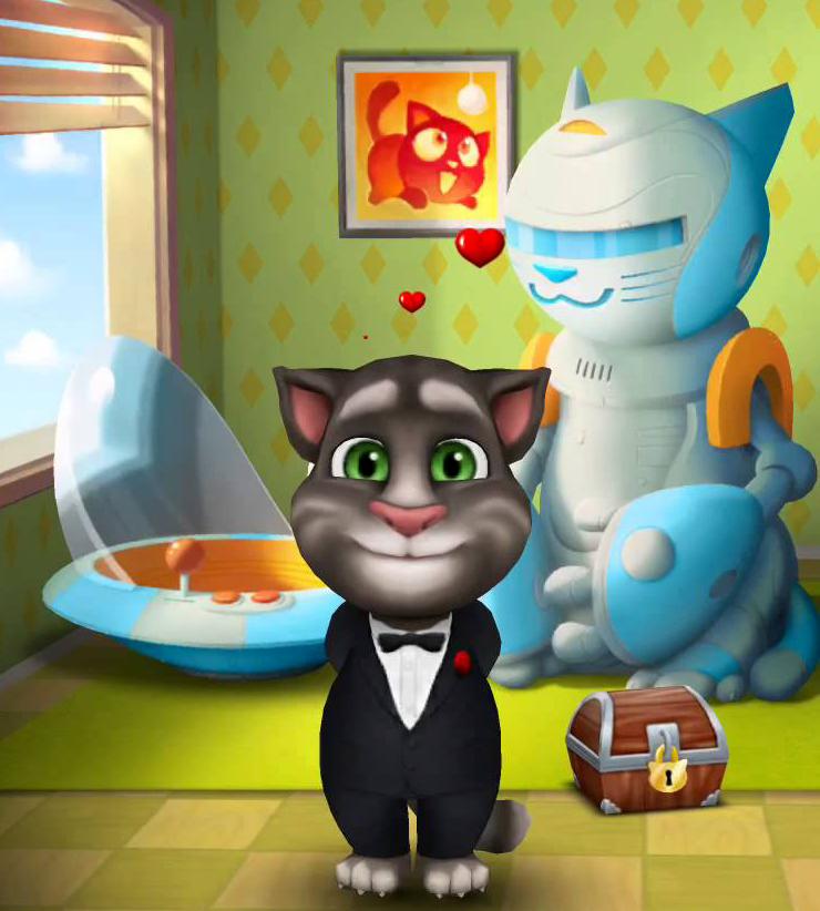 Benim Konuşan Kedi Tom Oyunu Oyna
