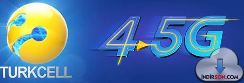 Turkcell 4.5G İnternet Hızı Özellikleri
