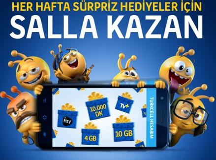 Turkcel Hesabım Salla Kazan