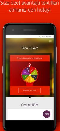 Vodafone Yanımda Salla Kazan