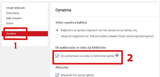 Youtube Video Bildirimleri Nasıl Kapatılır