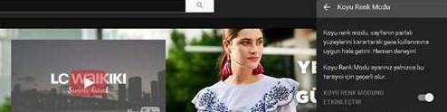 YouTube Gece Modu Nasıl Açılır Kapatılır