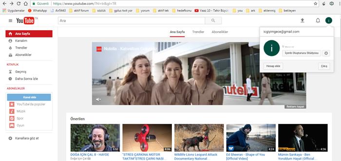 Youtube Gece modu Nasıl Etkinleştirilir